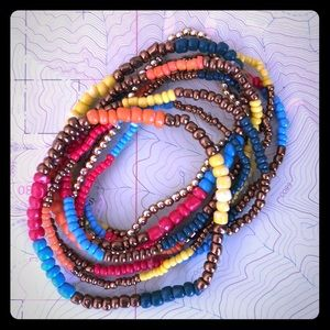 Jewelry - Set of 8 Beeded Bracelets